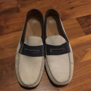 Other - Gray Suede slip on loafers